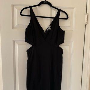 Zac Posen Black Cut Out Dress